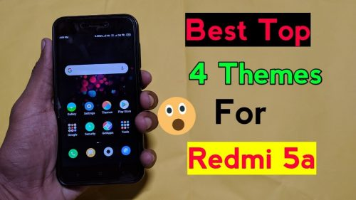 Top 4 Best Themes For Redmi 5a | latest Theme | 4