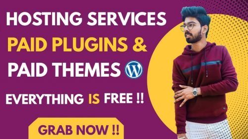 Get Premium Wordpress Themes & plugins for free | Build Your Website with Free Premium Hosting Plan