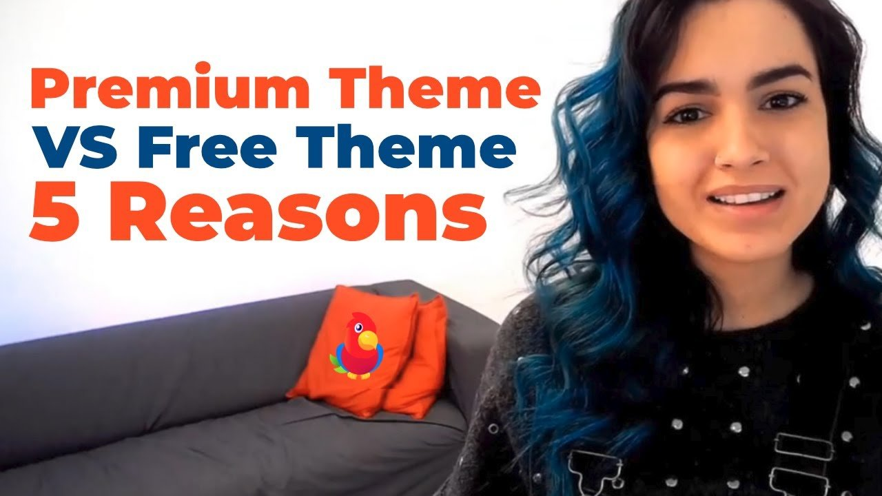 5 Reasons Why I Prefer a Premium Theme vs a Free Theme
