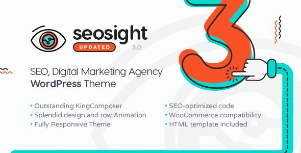 Seosight – SEO, Digital Marketing Agency WP Theme with Shop 1