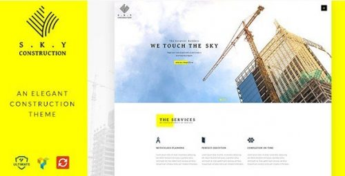 CONSTRUCTION WORDPRESS THEME – RESPONSIVE CONSTRUCTION WP THEME 1