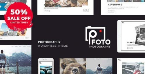 FOTO WORDPRESS THEME – PHOTOGRAPHY WP THEMES FOR PHOTOGRAPHERS 1