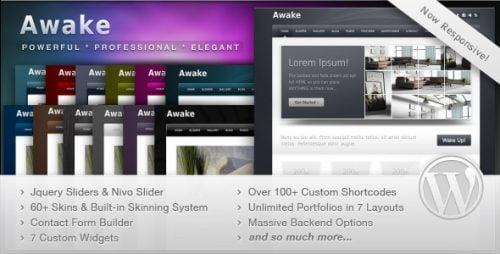Awake - Creative Portfolio Theme 1