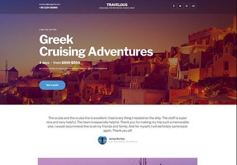 ELEMENTORISM TRAVELOUS - WORDPRESS THEME 1