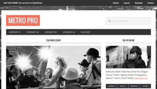 Metro Wordpress Theme - HIGH-PERFORMANCE Mythemeshop  WP Themes 1