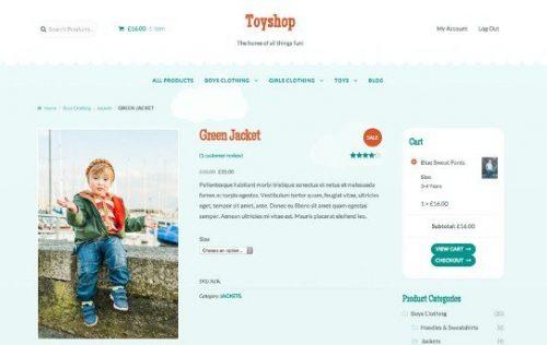 TOYSHOP - STOREFRONT WOOCOMMERCE THEME 1