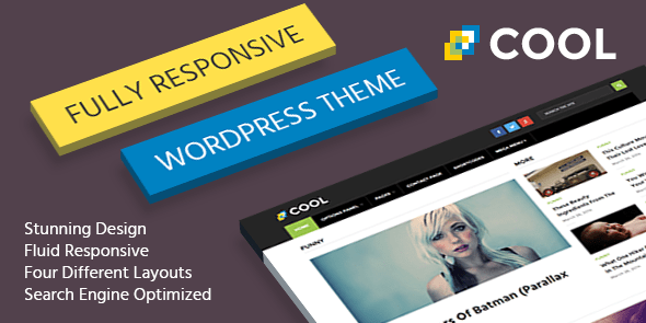 Cool Themes - BEST RESPONSIVE  WORDPRESS THEMES 1