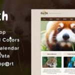 Earth Theme – Eco/Environmental NonProfit WordPress Theme
