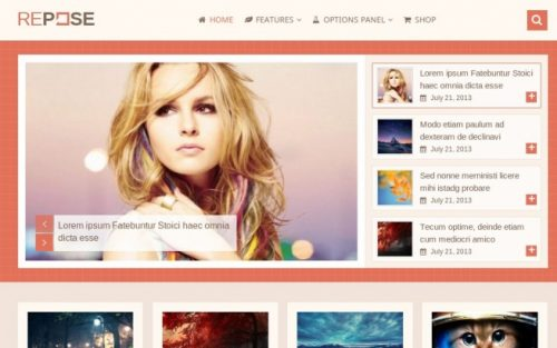 Repose WordPress Theme - High-Performance WordPress Theme 1