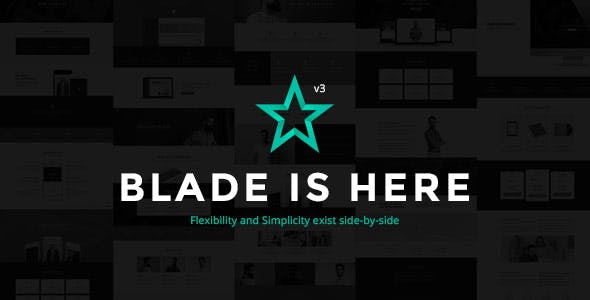 Blade Wordpress Theme - Best Responsive  WP Themes 1