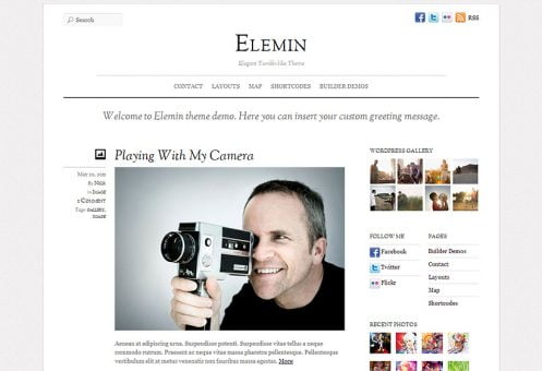 Elemin Wordpress Theme - Creative WP Themes 1