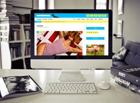 Doberman Wordpress Theme - Creative Wp Themes 1