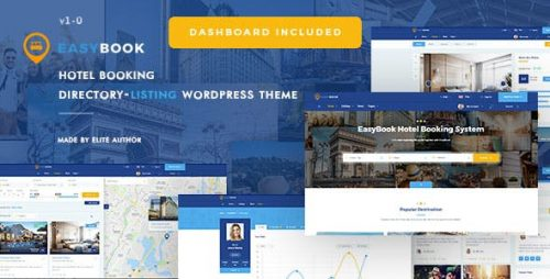 Easybook Wordpress Theme - Premium Wp Themes 1