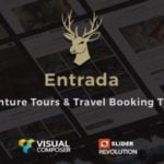 Entrada WordPress Theme – Tour Travel Booking WP Theme