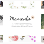 Moment WordPress Theme – Wedding & Event Theme