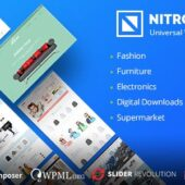 Nitro wordpress theme – Universal WooCommerce Theme