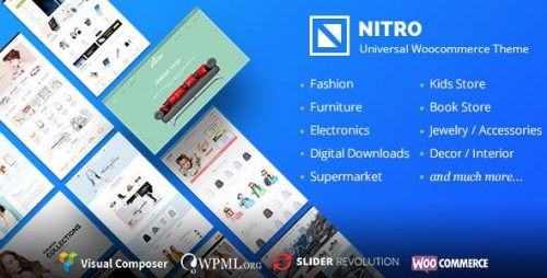 Nitro wordpress theme - Universal WooCommerce Theme 1