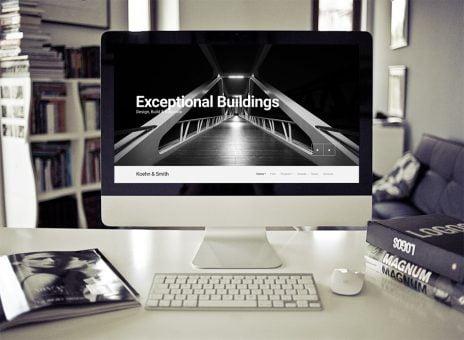 Architect Wordpress Theme - Koehn WP Theme 1