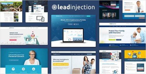 Leadinjection WordPress Theme - Best Responsive WP Themes 1