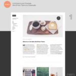 Moka WordPress Theme – Blog WP Theme