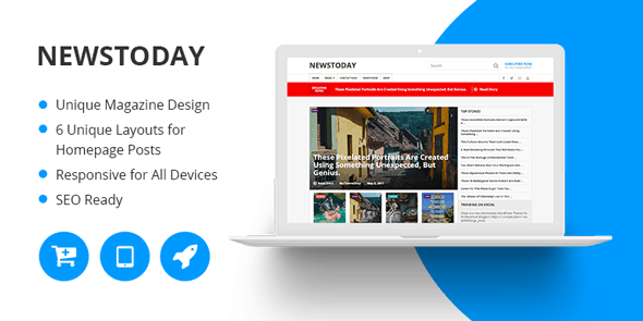 Newstoday Theme - Mythemeshop WP Themes 1