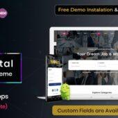 Nokri WordPress Theme – Creative  WP Themes