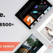 Oshin WordPress Theme – Creative WP Theme
