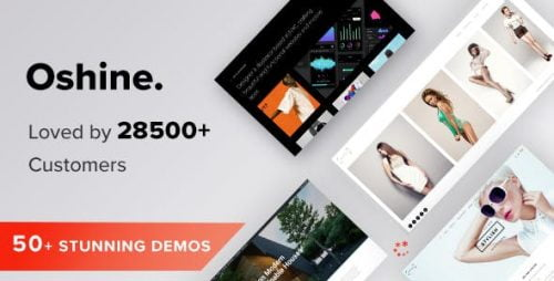 Oshin WordPress Theme